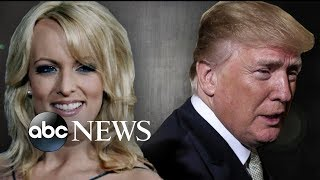 Trump's legal team making moves in Stormy Daniels case - ABCNEWS