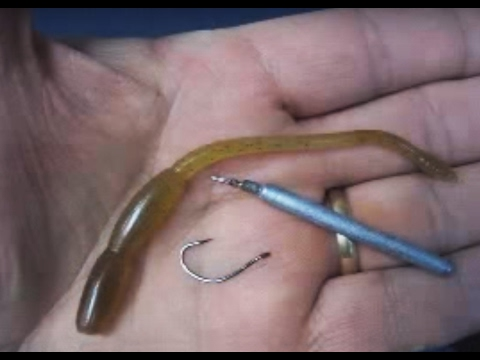 Tying and fishing the drop shot rig