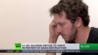 'Can't be quiet anymore': More than 50 IDF reservists refuse to serve - RUSSIATODAY
