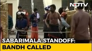 Shutdown In Kerala As Sabarimala Opens For Pilgrimage Season - NDTV