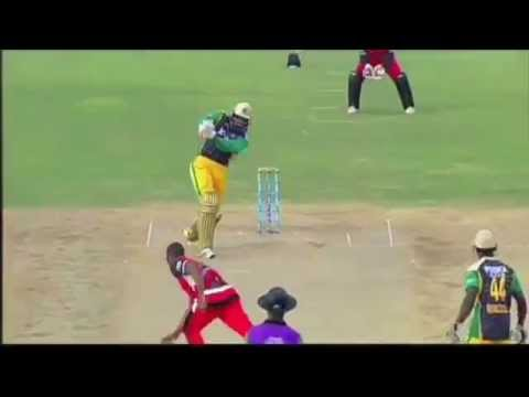 Chris Gayle's Huge Six in the CPL 2013