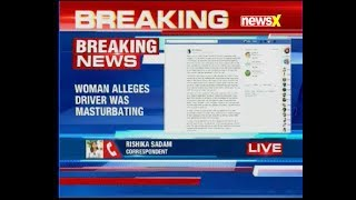Hyderabad: Woman alleges Uber driver masturbated while dropping her to airport - NEWSXLIVE