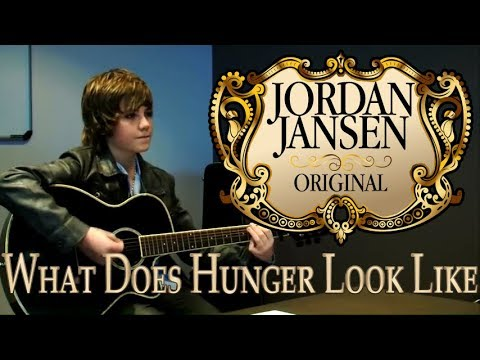 What Does Hunger Look Like - Original song by Jordan Jansen for World Vision