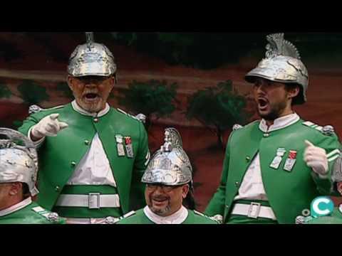 Sesión de Cuartos de final, la agrupación Por Andalucía actúa hoy en la modalidad de Coros.
