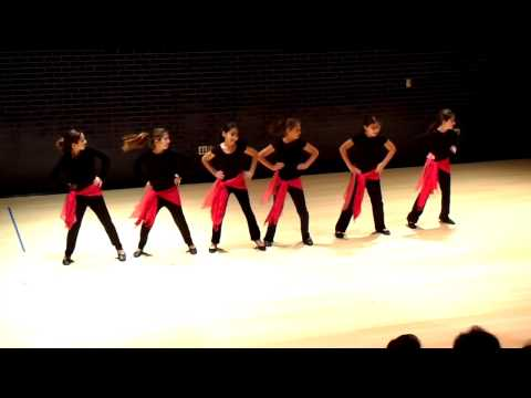 Ma Yhemmak (don't worry) - Arab Dance - Lovett Middle School (November 15, 2009)
