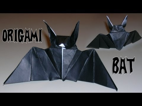 Origami Bat - Mantler's Bat -9f0l_CxynVo
