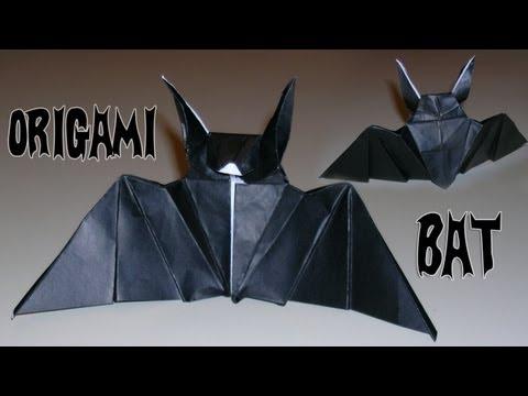 Origami Bat - Mantler's Bat -9f0l_CxynVo