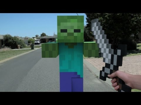 Minecraft In Real Life First Person