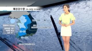 날씨속보 08월 25일 01시 발표