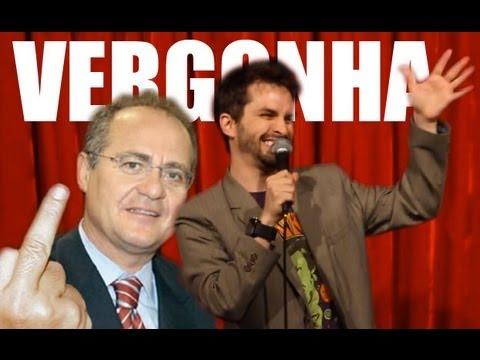 QUE VERGONHA (FORA RENAN) /// 96 Bruno Motta Comédia Stand Up / Standup Comedy