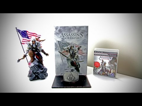 Assassin's Creed 3 Limited Edition Unboxing (Assassin's Creed III)