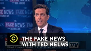 Analyzing the Troll Threat - The Fake News with Ted Nelms - COMEDYCENTRAL