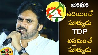 Pawan Kalyan Counter on TDP Party | Janasena Latest Updates | Pawan Kalyan Comments on Chandrababu - MANGONEWS