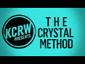 """Crystal Method Performing """"Over It"""" Live On Kcrw"""