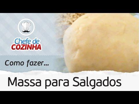 Como fazer Massa Básica de Coxinha, Enroladinho de Salsicha, ...| Receita: Chef Alex Granig