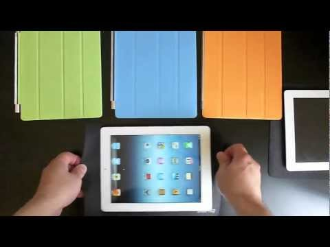 Apple Smart Covers Tested On New iPad 2012 (iPad 3)