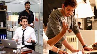 Hero Mahesh Babu New Ad Shoot Working Stills | అబి బస్ యాడ్ లో మహేష్ లుక్ అదుర్స్ - RAJSHRITELUGU