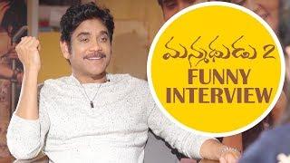Nagarjuna Manmadhudu 2 Interview | Tollywood News | TFPC - TFPC