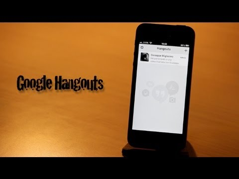 App Store - Google Hangouts provato su iPhone