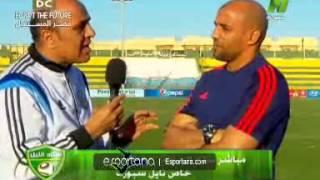بالفيديو.. عبد الغني: الفوز هدية للشهداء وهذه طبيعة اللاعب المصري