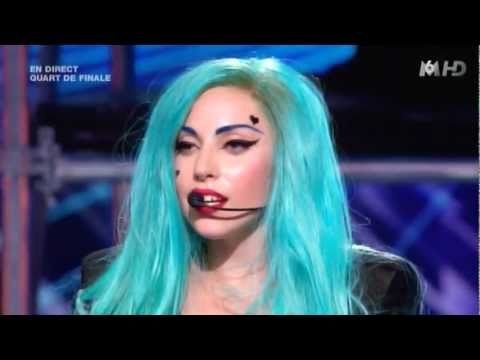 Lady Gaga The Edge of Glory & Judas X Factor