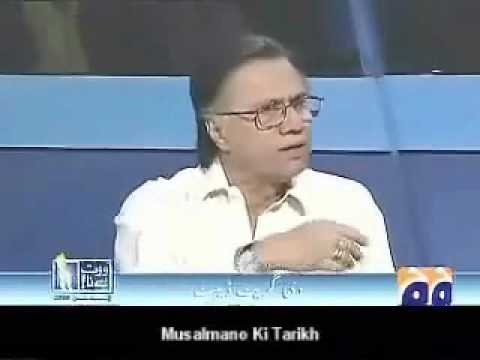 Lies of foolish psyzophrenic  ZAID HAMID exposed by real educated Hasan Nissar