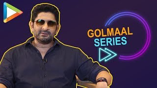 "Arshad Warsi: ""Rohit Shetty is now thinking about Golmaal 5"" 