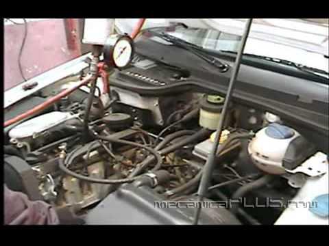 Afinación VW Pointer  1.8L. - Lavando inyectores 4 (desconectando la boya)