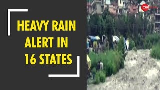 Heavy to very Heavy rainfall expected in 16 states in next 2 days - ZEENEWS