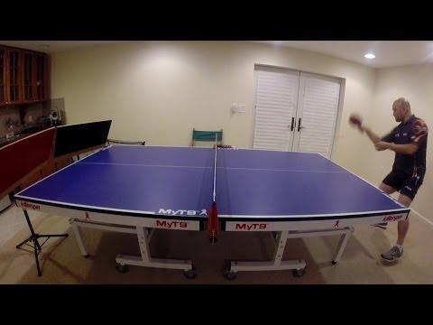 table tennis return board practice
