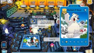 Club Penguin Herbert P Bear 2012