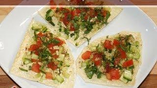 Masala (Salad) Papad..