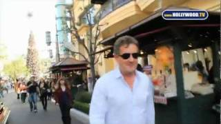 chanel-: Piers Morgan, Brittny Gastineau, Nick Swardson and other Celebs shop at the Grove