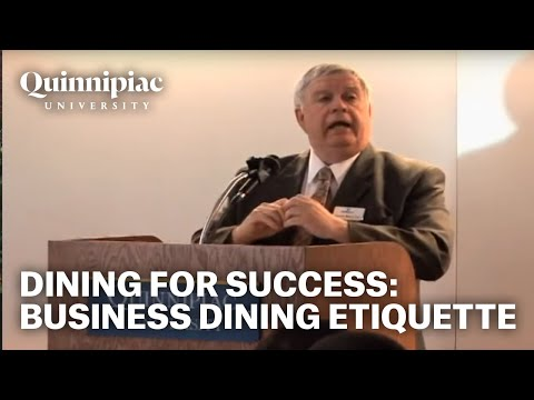 Dine For Success: Business Dining Etiquette