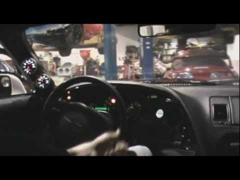 SP Racing F1 Supra In Car Driving and Anti-Lag video