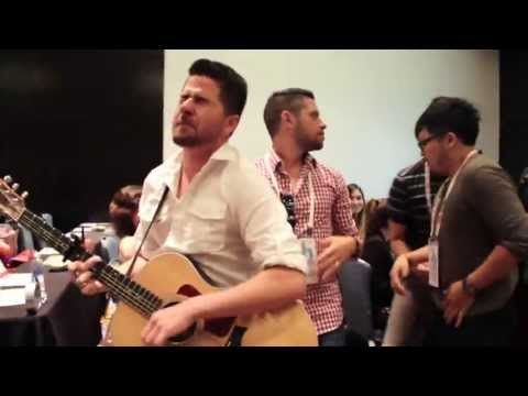Jorge Narvaez sings with Los Pichy Boys & Shit Mexican Moms Say