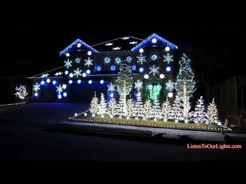 Christmas Light Show Videos