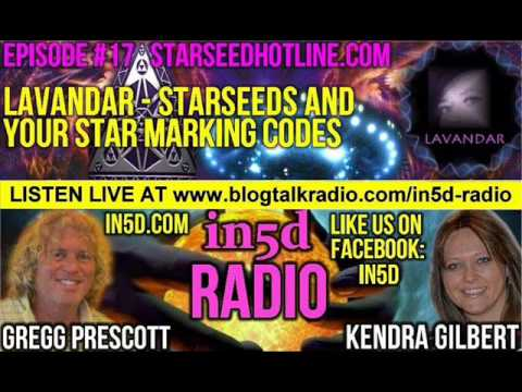 In5D Radio - Lavandar - Walk-Ins, Starseeds And Your Star Marking Codes Episode 17