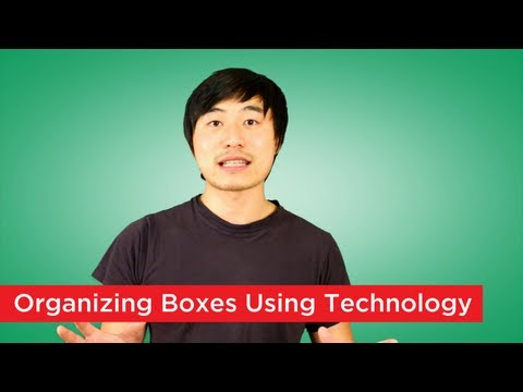 How to Organize Storage Boxes Using Technology