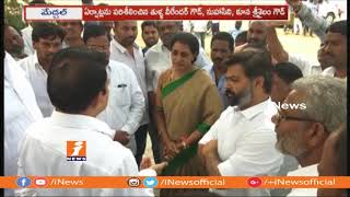 Mahakutami Candidates Inspects Election Polling Counting Center In Medchal | iNews - INEWS