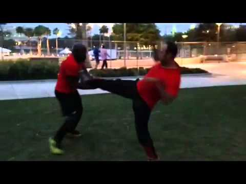 Tampa Wing Chun Kung Fu - Sifu Och: Light Sparring