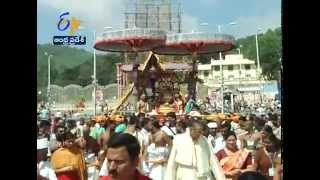 Hamsa Vahana Seve Performed For Tirumala Swamy As A Part of Brahmotsav - ETV2INDIA