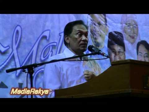 Anwar Ibrahim: Melayu Tuan Hanya Ketua-Ketua UMNO Yang Kaya Curi Orang Punya Harta