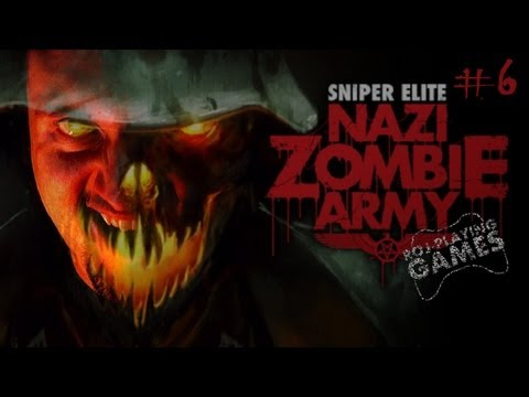 Benzyna a'la Slender - Sniper Elite: Nazi Zombie Army #6 (Roj-Playing Games!)