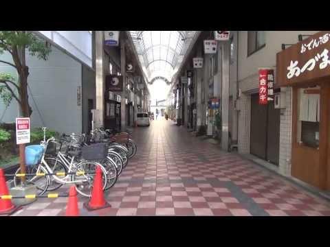 日本一短い商店街を歩き撮り(SONY Handycam HDR-CX430V)