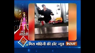 Selfie time for Komolika aka Hina Khan amid workout session - INDIATV