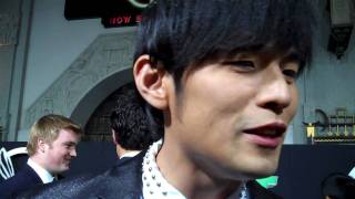 Jay Chou at the Green Hornet premiere view on youtube.com tube online.