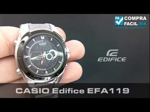 Reloj Casio Edifice EFA 119 - CompraFacil.mx