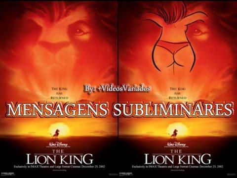 Mensagens Subliminares - Walt Disney.