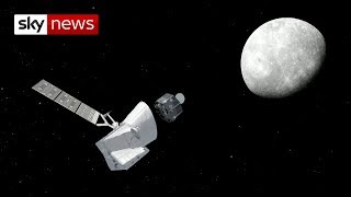 Mission to Mercury: Blast-off for UK-built spacecraft BepiColombo - SKYNEWS